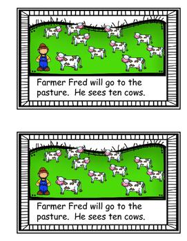 Farm Animals - Emergent Reader
