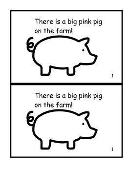 Farm Animals Guided Reading Bundle