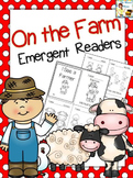 Farm Animals Emergent Readers