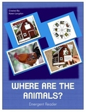Farm Animals Emergent Reading Book