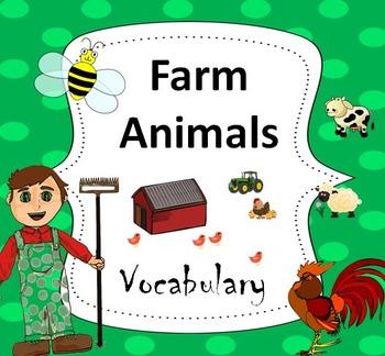 Farm Animals Essential Vocabulary Through Fun Activities