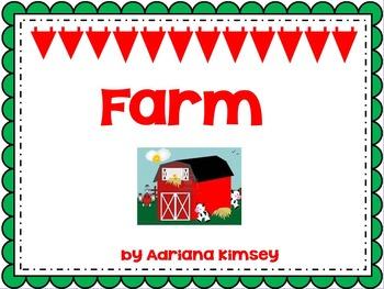 """ 5 Senses ActivInspire Farm Animals Theme"""