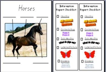 Farm Animals Information Report Bundle