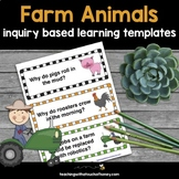 Inquiry Based Learning Projects - Farm Animals With Sample