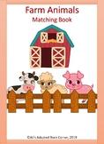 Farm Animals Interactive Book, Autism, Special Ed, Preschool