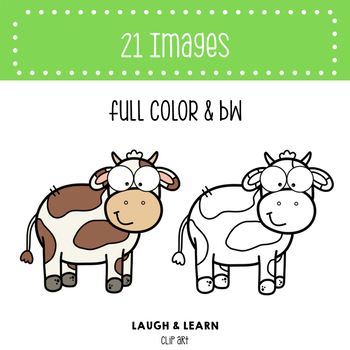 Farm Animals - Laugh and Learn Clip Art