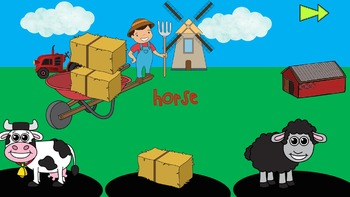 Farm Animals - Lesson - PowerPoint Games - Worksheets
