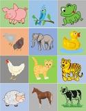 Farm Animals Matching Game