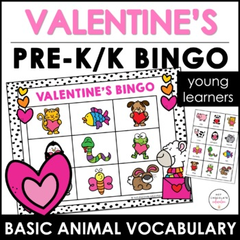Farm Animals Memory Game - Valentine's Day Edition