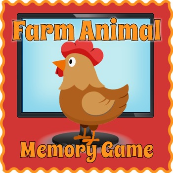 Farm Animals Game for PC and Smartboard