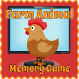 Digital Farm Animals Matching Game