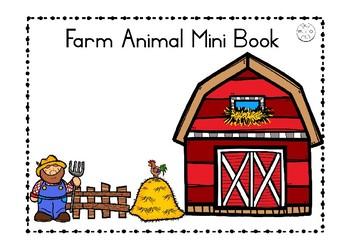 Farm Animals Mini Book