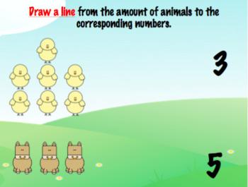 Farm Animals Mini Workbook