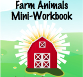 Farm Animals Mini Workbook