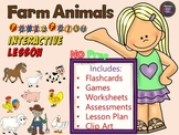 Farm Animals - No Prep - PowerPoint Interactive Lesson