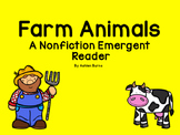 Farm Animals Non- Fiction Emergent Reader