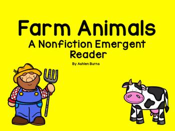 Farm Animals Non- Fiction Emergent Reader
