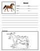 Farm Animals Note Taking Pages