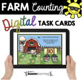 Farm Animals - Number Bonds - Sums of 10 - Numbers and Counting Boom Cards