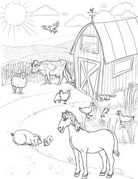 Farm Animals Picture