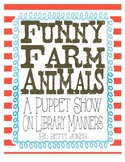 Farm Animals Puppet Show - A Lesson on Library Manners