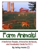 Farm Animals R.I.1 Nonfiction Text / Interactive Notebook