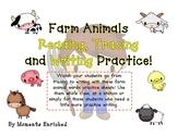 Farm Animals - Read it, Trace it, Write it!