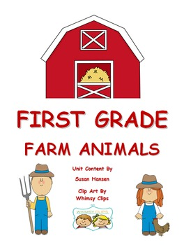 Farm Theme: First and Second Grade Activities