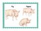 Farm Animals:  Realistic Mini Farm Animal Word Wall Posters