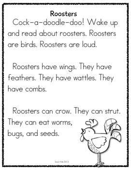 Farm Animals Research Reading