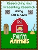 Farm Animals- Researching and Presenting Using QR Codes