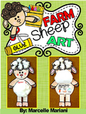 SHEEP ART ACTIVITY- What Comes From A Sheep?