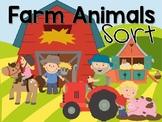 Farm Animals Sort