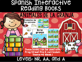 Farm Animals Spanish Interactive Reading Books Can Be Used