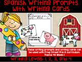 Farm Animals Spanish Writing Prompts & Cards Can Be Used W