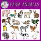 Farm Animals & Structures Clipart Bundle