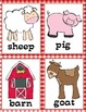 Farm Animals Syllable Sort (1, 2 and 3 Syllables)