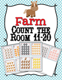 Farm Animals Teen Numbers Count the Room 11-20