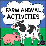 Farm Animals Theme/Trip: Activities, Book, Game & Resources