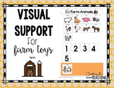 Farm Animals Visual Support {for Autism}