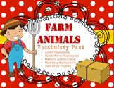 Farm Animals Vocabulary Activities and Flashcards