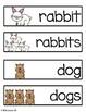 Farm Animals Vocabulary Cards
