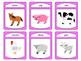 Farm Animals Vocabulary Spoons ESL Card Game