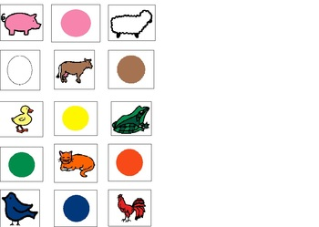 Farm Animals - What Color Are They?