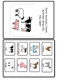 Farm Animals...What Do You See? (interactive book)