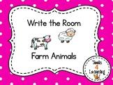 Farm Animals {Write the Room}