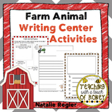 Farm Animals Activities - Writing Center Activities