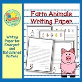 Farm Writing Paper
