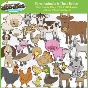 Farm Animals and Babies