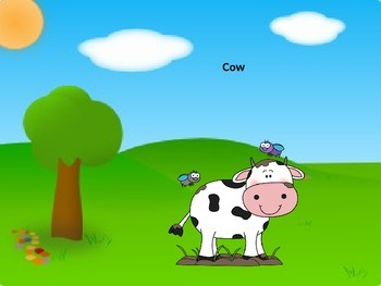 Farm Animals and their Sounds Power Point Presentation: